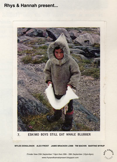 Eskimo Boys Still Eat Whale Blubber